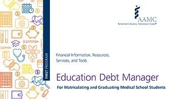 Education Debt Manager tool image
