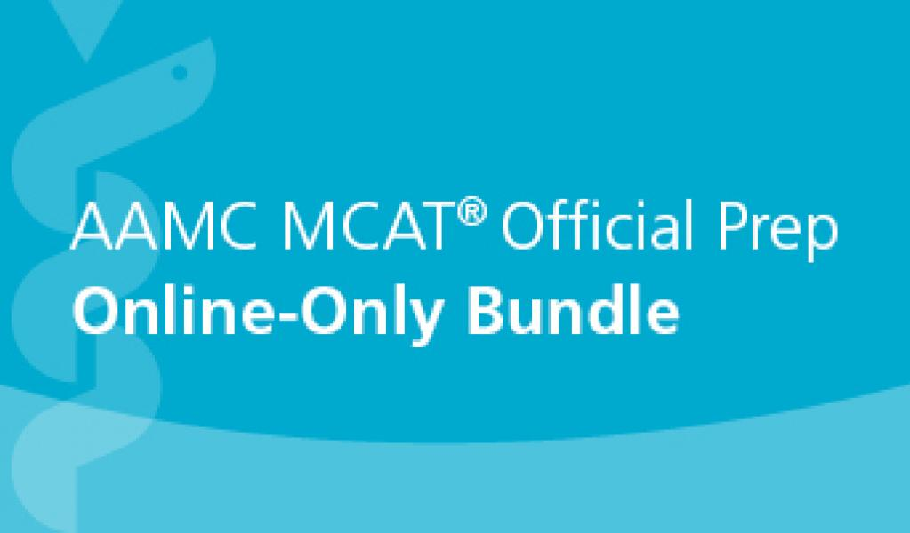 AAMC MCAT Official Prep Online Only Bundle